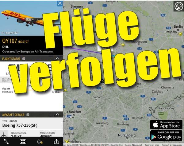 flugverfolgung live kostenlos